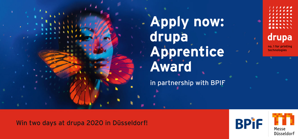 Apply now for the drupa Apprentice Award